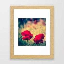 Keokea Poppy Dreams Framed Art Print