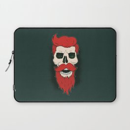 Bearded Skull Laptop Sleeve