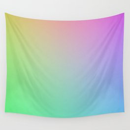 gradient test pattern Wall Tapestry
