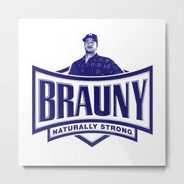 brauny Metal Print
