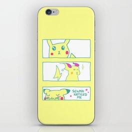 Teenage Poke Romance iPhone Skin