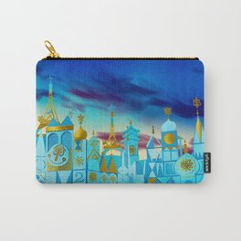 It's a Small World Carry-All Pouch