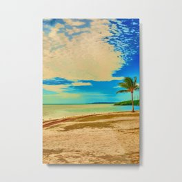 Veterans Beach Little Duck Key Metal Print