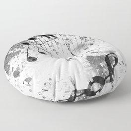 Musical Atmosphere Floor Pillow
