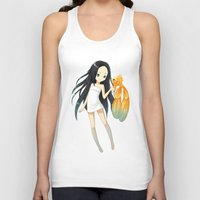 goldfish Tank Tops featuring Goldfish by Freeminds