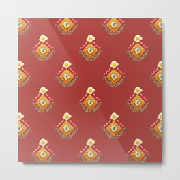 Waffles and Bacon (Red Rover Red Rover) Metal Print