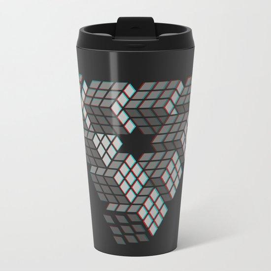 I'M PUZZL3D Metal Travel Mug