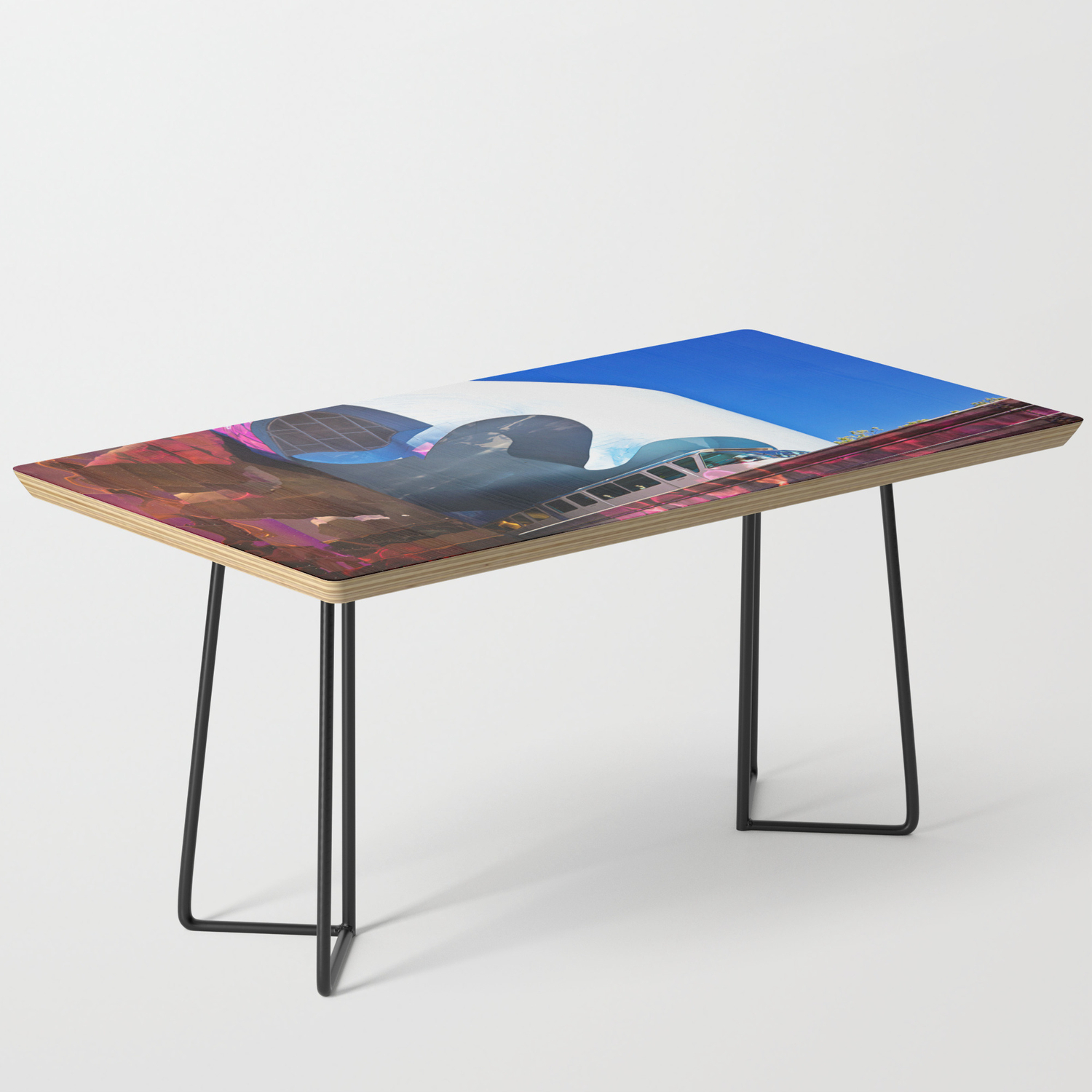 Seattle Center Monorail Coffee Table By Jmccool