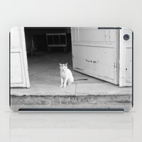 arab iPad Cases featuring Arab kitty by Raleigh Tillman