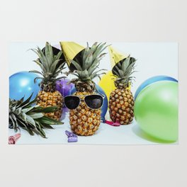 Pineapple Party Time Rug
