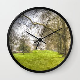 The Pagoda Battersea Park London Art Wall Clock