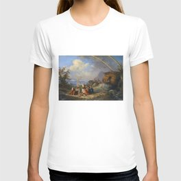 Noah gives Thanks for Deliverance by Domenico Morelli (1901) T-shirt