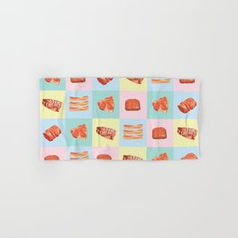 Meat Checkers Hand & Bath Towel