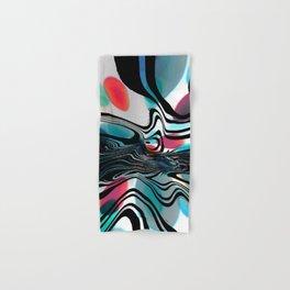 Wild Primary Color Wave Abstract Hand & Bath Towel