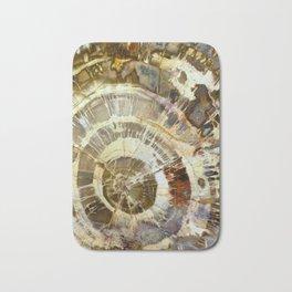 Abstract mineral texture Bath Mat