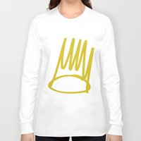 crown Long Sleeve T-shirts featuring Crown by GerritakaJey