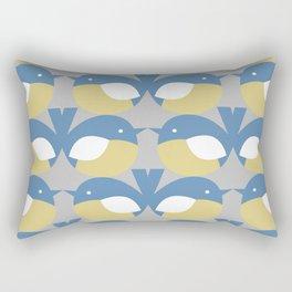 Two Little Dickie Birds Rectangular Pillow