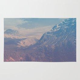 bamf mountain Rug