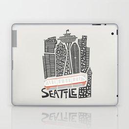 Seattle Cityscape Laptop & iPad Skin