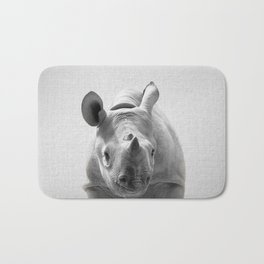 Baby Rhino - Black & White Bath Mat