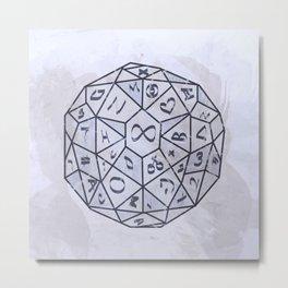 Dungeons Dungeons Metal Print
