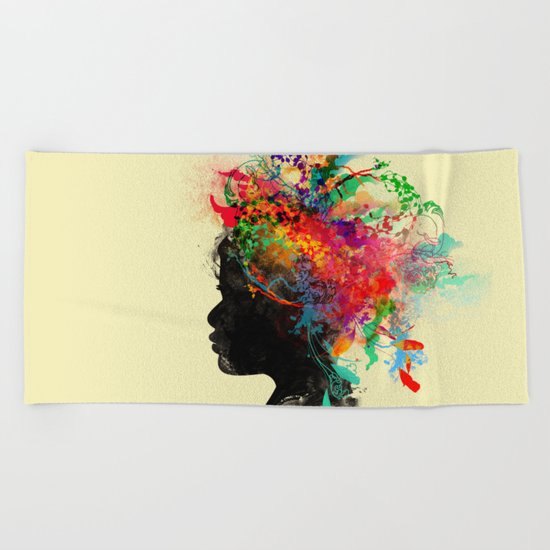Wildchild (aged ver) Beach Towel