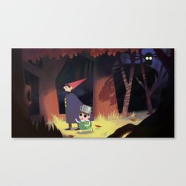 The Beast is afoot Canvas Print