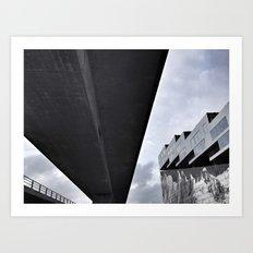 Modern Danish Architecture Art Print