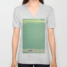 Smell the sea and feel the sky Unisex V-Neck