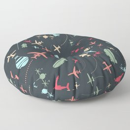 Air tour Floor Pillow