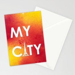 MyCity-Tokyo-RedYellowA Stationery Cards