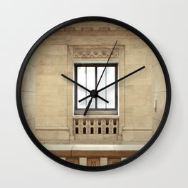 Inside the New York Public Library Wall Clock