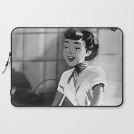 Anya Smith - Roman Holiday (Audrey Hepburn) Laptop Sleeve