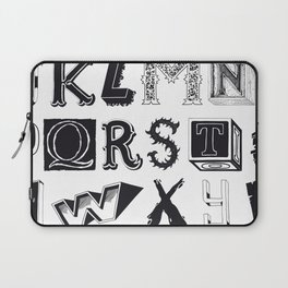 The Alphabetical Stuff - Complete Laptop Sleeve
