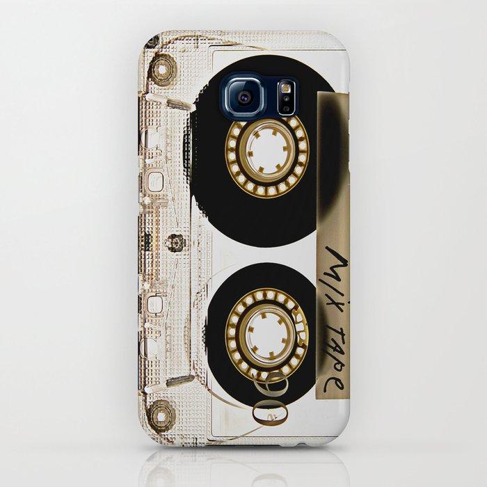 Transparant mix tape Retro Cassette iPhone Case