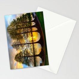A Lakeland Sunset Stationery Cards