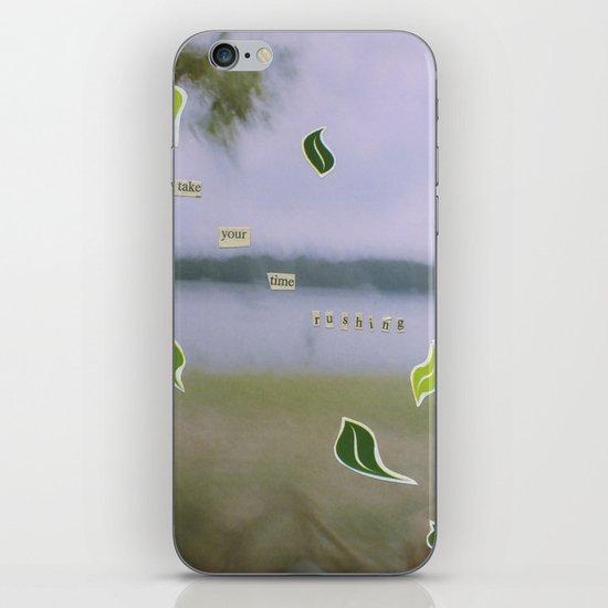 Rushing iPhone & iPod Skin