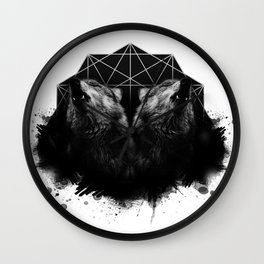 Kindred Howl Wall Clock