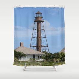 Sanibel Island Light Shower Curtain