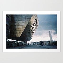 Wales Millenium Centre, Cardiff Art Print