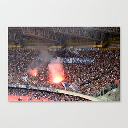 WE WANT TO WIN Canvas Print