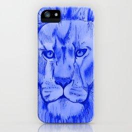 Jungle Blues iPhone Case