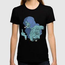 Ebeni zombi T-shirt