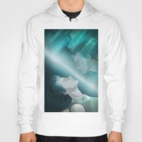 ghost in the shell Hoodies featuring Ghost in the Shell, fan poster by XDimov