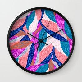 Alice in wonderpink Wall Clock
