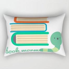 Book worm - Best gift for book lover kids Rectangular Pillow