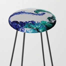 Mini Series [Musical Waves - Oceanic] Counter Stool