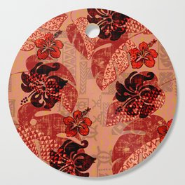 On Fire Kona Tribal Design Cutting Board