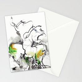 "Fantastic animals ""Behemoth"" Stationery Cards"