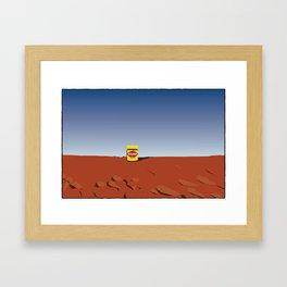 outback vegemite Framed Art Print